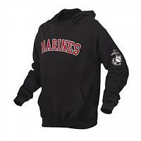 Толстовка Rothco Marines Pullover Hoodie Black