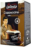 Капучино шоколадное La Festa Chocolate 10 пакетиков по 12,5 грамм.
