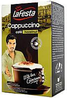 Капучино c орехом La Festa Hazelnut 10 пакетиков по 12,5 грамм.