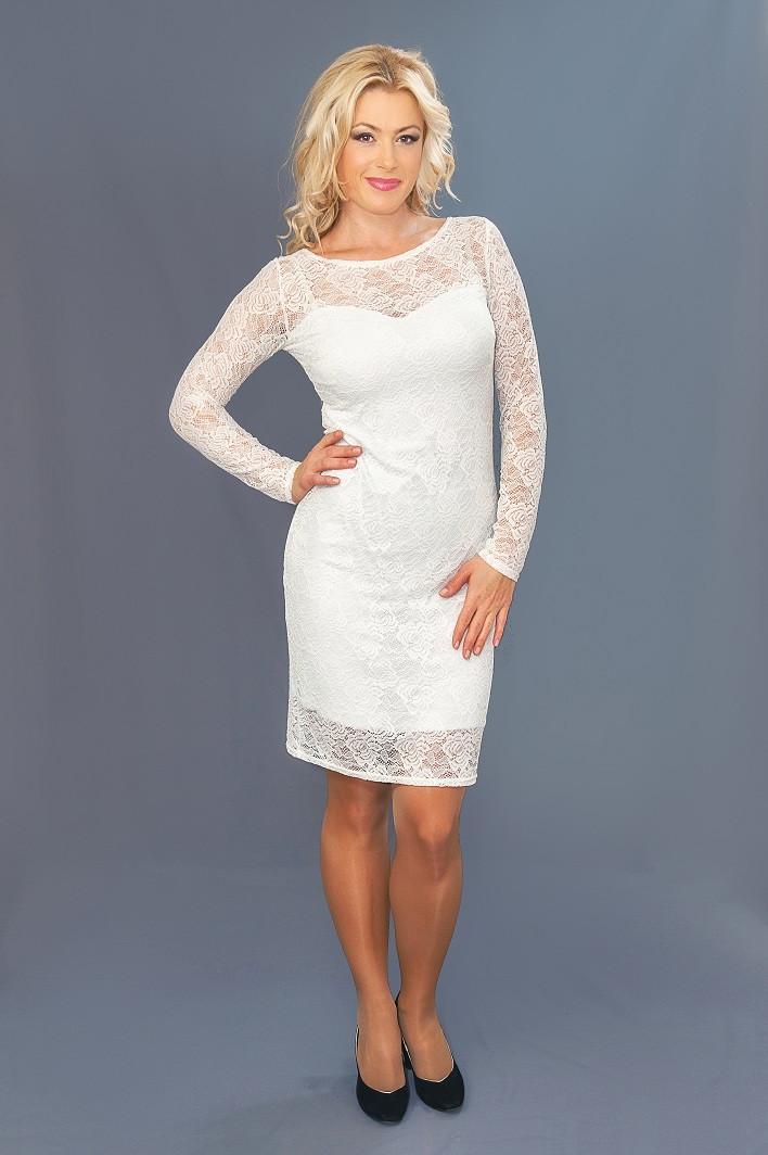 Женское гипюровое платье  (46-60) 8084.1
