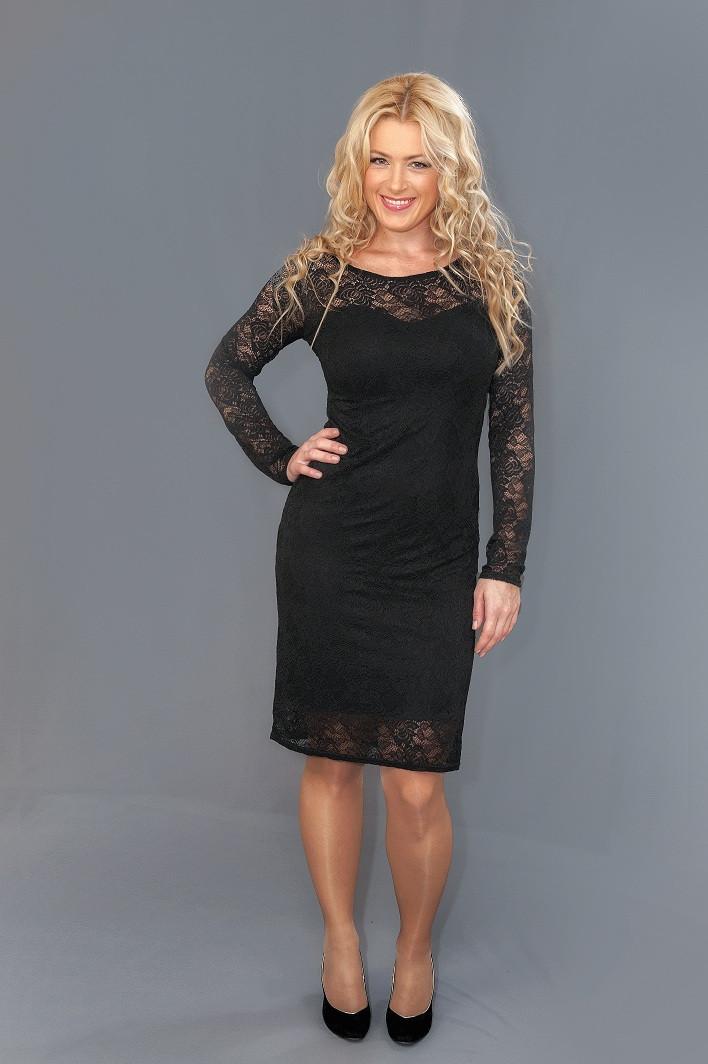Женское гипюровое платье  (46-60) 8084.2