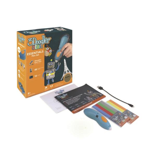 3D Ручка для детей 3Doodler Start для детского творчества - Креатив (синяя)