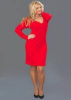 Женское ангоровое платье  (48-58) 8082
