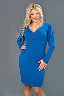 Женское ангоровое платье  (48-58) 8082.1