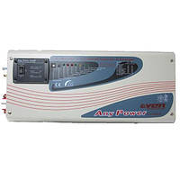 Гибридный инвертор+стабилизатор APS 1000Вт 24B