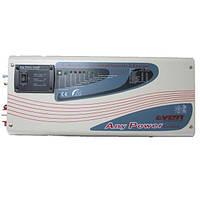 Гибридный инвертор+стабилизатор APS 1500Вт 24B