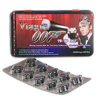 Виагра Агент 007 средство повышающее потенцию, продления полового акта (10 таблеток в  упаковке)