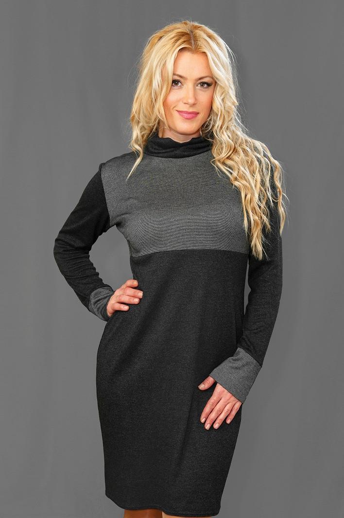 Женское ангоровое платье  (46-54) 8094