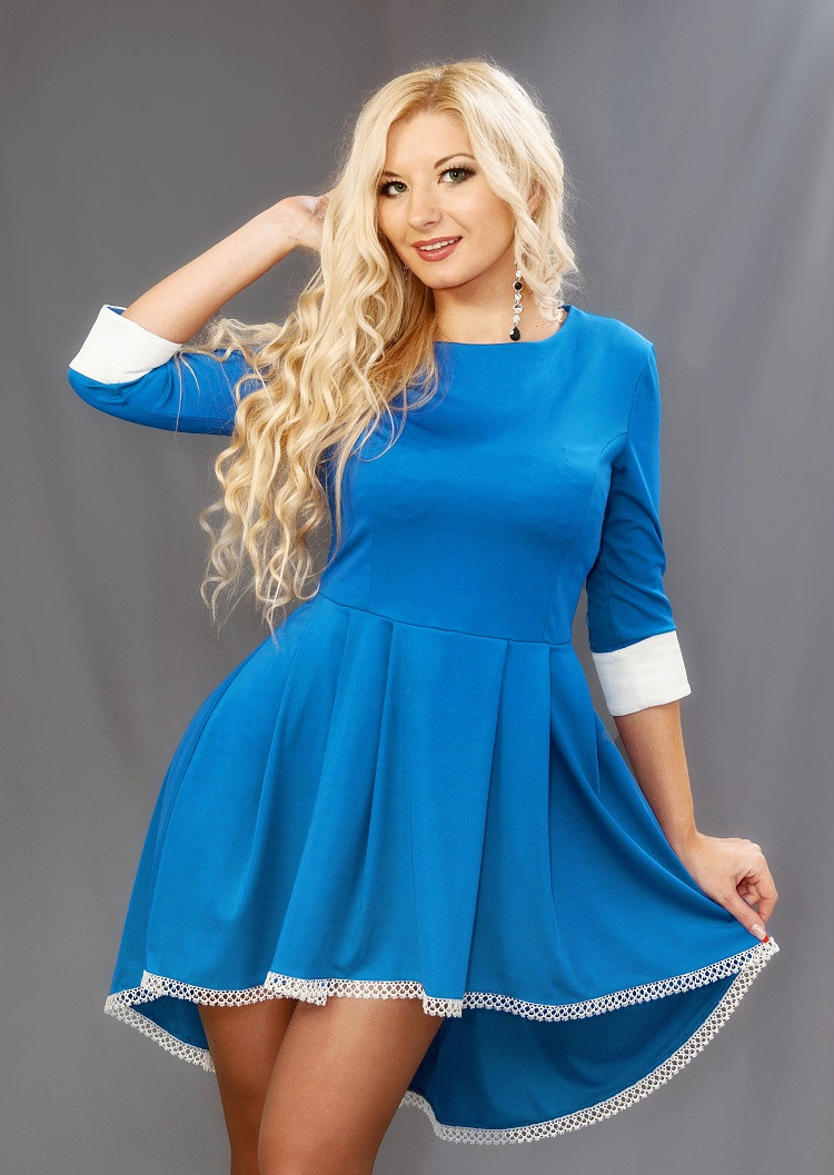 Женское платье (42-52) 8096