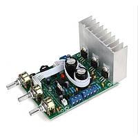 Стерео усилитель звука трехканальный для автомобиля аудио AC 9-15В 3*18Вт TDA2030A