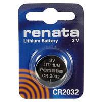 Батарейка литиевая Renata CR2032 Lithium 3V