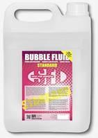 Жидкость для мыльных пузырей Стандарт Bubble Standard 5л. Заправка для генератора мыльных пузырей