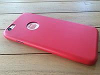 Ультратонки чехол-накладка для iPhone 6 red