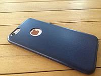 Ультратонкий чехол-накладка для iPhone 6 deep blue