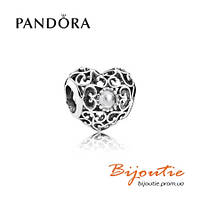 Pandora шарм СЕРДЦЕ-ТАЛИСМАН 791784RC серебро 925 Пандора оригинал
