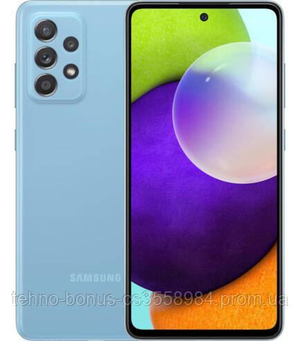 Смартфон Samsung Galaxy A52 4/128GB Blue (SM-A525FZBD)