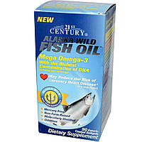 Рыбий жир в капсулах, 21st Century Health, 90 капсул