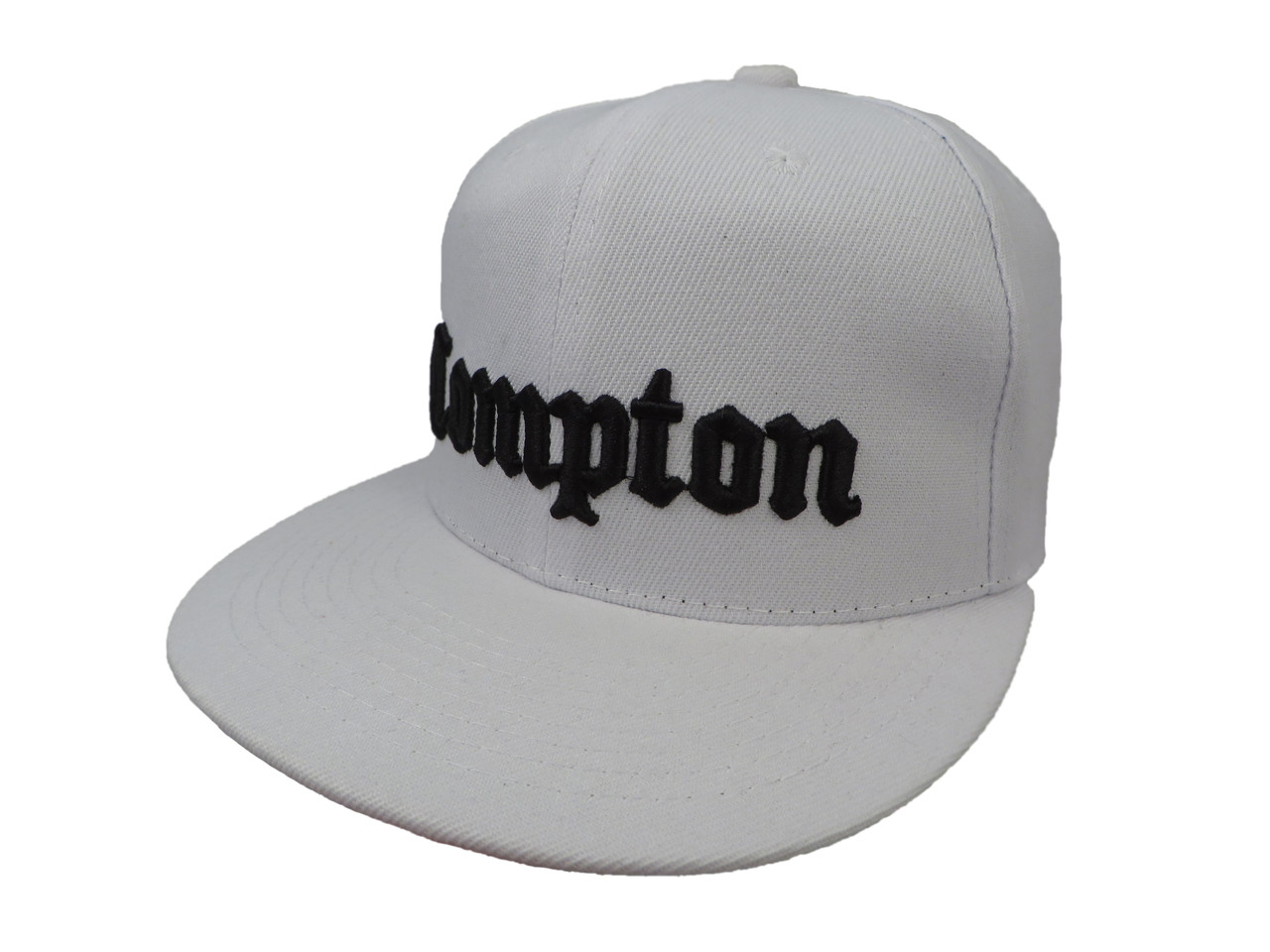 Белая кепка Compton
