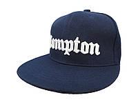 Темно-синяя кепка Compton