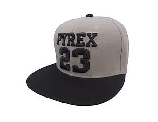 Серая кепка Pyrex 23 (реплика)