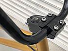 Дитячий підлітковий велосипед TopRider BMX-5 колеса 20 дюймів золотий, фото 2