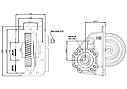 Коробка отбора мощности (КОМ) B 18200-42 для RENAULT , фото 2