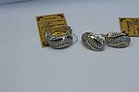 Комплект Ладья из серебра 925 пробы с золотыми вставками 375 пробы