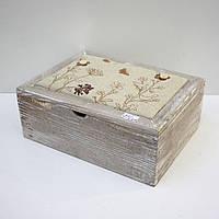 Деревянная шкатулка для рукоделия