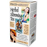Чай для похудения (персик-абрикос), 21st Century Health Care, 24 пак.