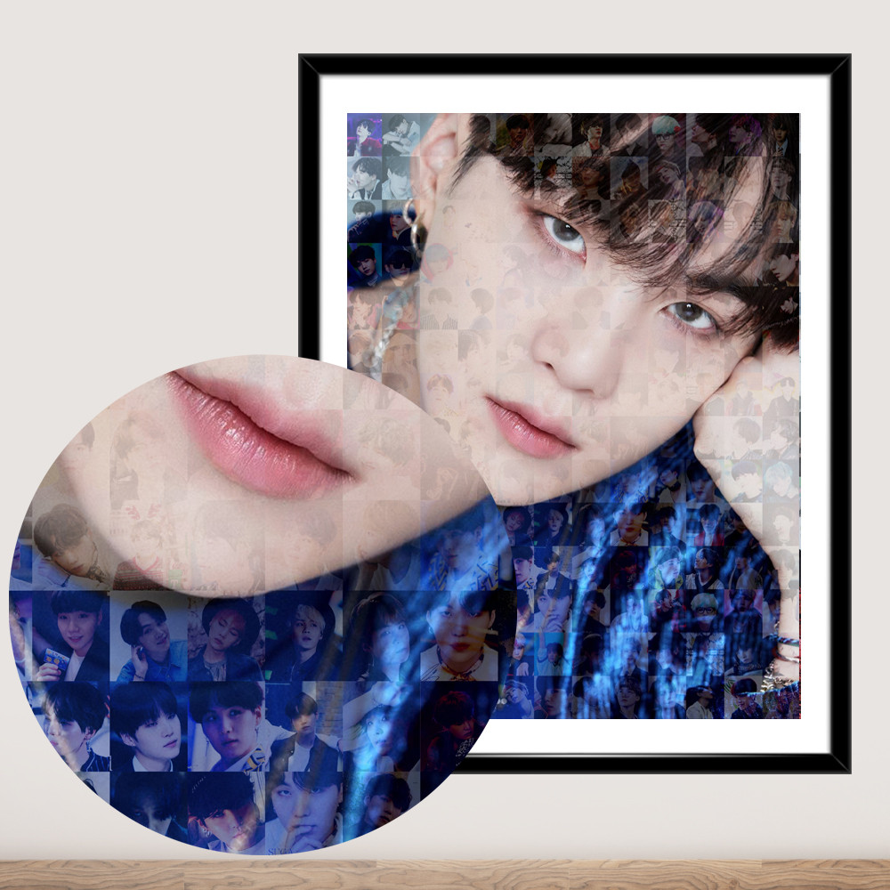Постер BTS Suga Min Yoongi Шуга БТС  плакат формат А3