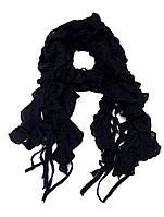 Шарф женский вязанный Ажур