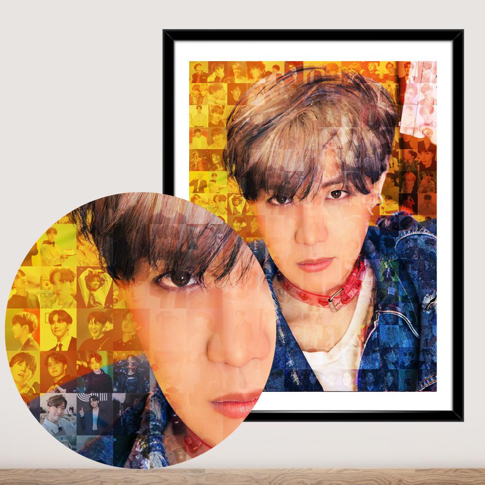Постер BTS J-Hope Jung Ho Seok Джей-Хоуп БТС плакат формату А3