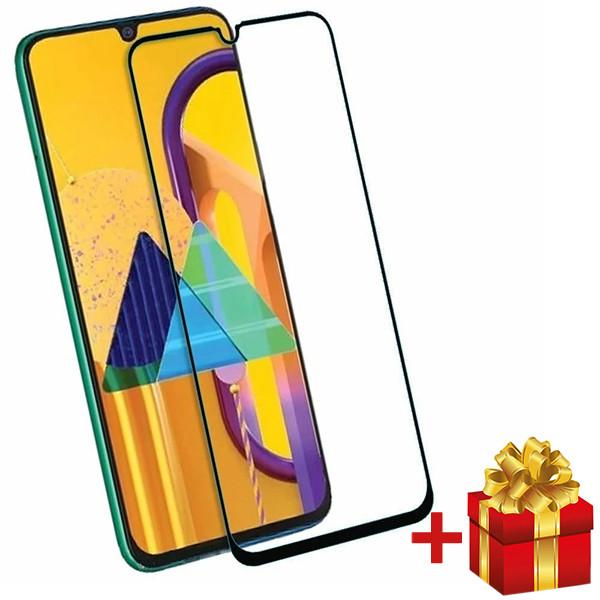 Защитное закаленное  cтекло для  Samsung Galaxy M31 c рамкой Черный