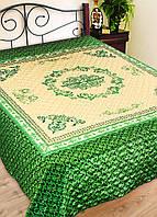 """Покрывало на кровать атласное """"Пахлава"""" (размер 230х240 см)"""
