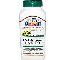 Экстракт эхинацеи, 21st Century Health Care, 200 капсул