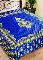 "Покрывало на кровать атласное ""Мармелад"" (размер 230х240 см)"