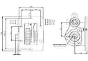 Коробка отбора мощности (КОМ) MO 50S5 для MITSUBISHI, фото 2
