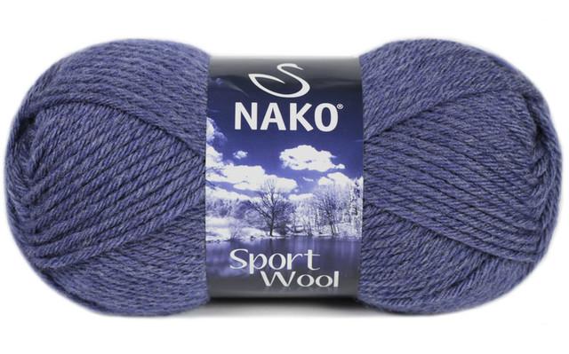 Nako Sport Wool (25% шерсть,75% акрил /120 м / Полушерсть / Осень-Зима)