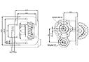 Коробка отбора мощности (КОМ) 28.38-5 для IVECO, фото 2