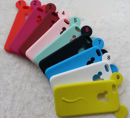 Силиконовый чехол Микки Маус на Iphone 5/5S разные цвета