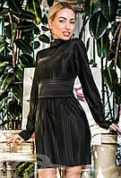 Маленькое стильное черное  платье S M L