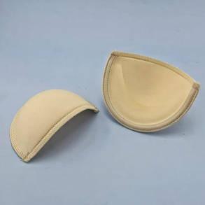 Чашка на косточке бежевая, пуш-ап, 75, фото 2