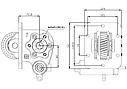 Коробка отбора мощности (КОМ) MOY 9S / MOY CRT / MYY 5T / MOY NB для ISUZU, фото 2