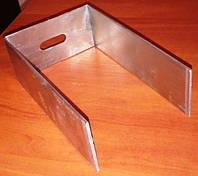 Кронштейн фасадный усиленный П-образный оцинкованный 80х50х80х1,5
