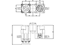 Коробка отбора мощности (КОМ) ZF , фото 2