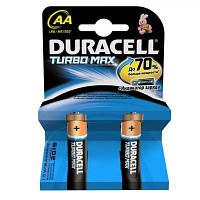 Батарейка Duracell AA TURBO MAX LR06 * 2 (81367857)
