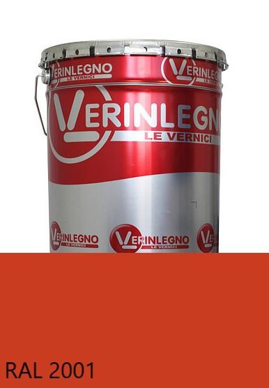 Краска полиуретановая для мебели Verinlegno Италия, Цвет  RAL 2001, двухкомпонентная