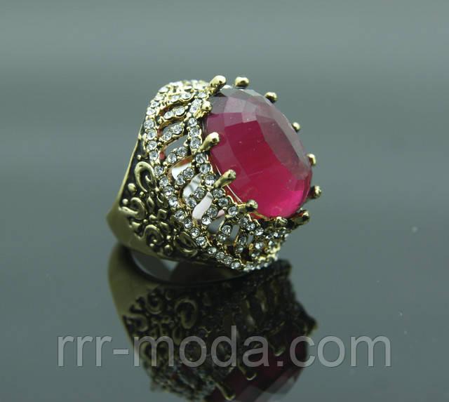 Поступление модных моделей перстней с камнями. Королевские кольца перстни от бижутерии оптом RRR.