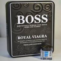 """Королевская виагра босс """"boss royal viagra"""" виагра для потенции, продления полового акта и увеличения пениса ("""