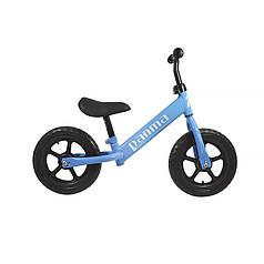 Беговел Panma BT-619 Blue велобіг від без педалей дитячий велосипед 26 см